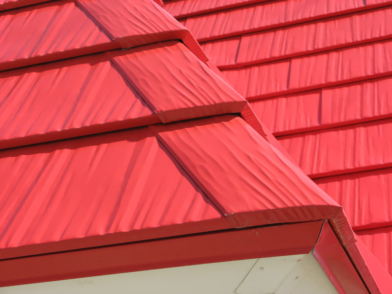 Dairy queen red shingle buildings nu look exteriors for Types of shingles for roofing