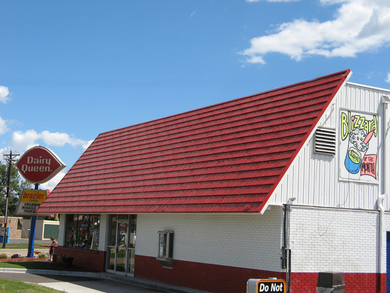 dairy queen red shingle roof building dairy queen red shingle roof building & Dairy Queen - Red Shingle Buildings - Nu-Look Exteriors ... memphite.com