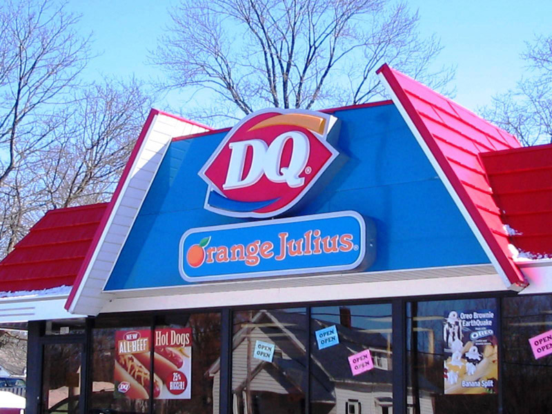 Dairy Queen Orange Julius Nu Look Exteriors Burnsville Minnesota
